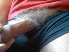 Dad stroking his perfect cock on cam