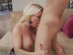 Excited for Anal MILF gets Creampie in the Butt