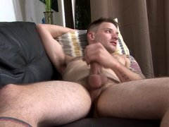 Dicksucking army hunk gets his ass plowed