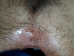 My wife fucked my ass with my big black toy