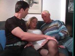 German MMF Bi-Sex Threesome