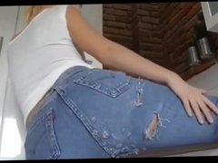 German Babe with Amazing Rounded Ass Likes Anal Sex