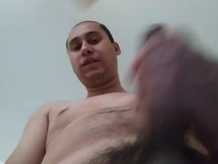 Me Jacking my Hairy cock.