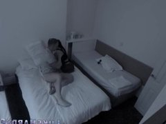 Eaten out babe on spycam