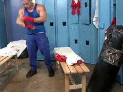 ExtraBigDicks Big Dick Latino Fucks His Muscle Jock Trainer