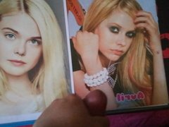 Tribute 4 Avril Lavigne n.17 and 4 Elle Fanning n.5