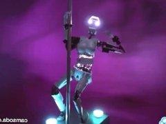 CamSoda - Sex Robot cam girl twerks and orgasms