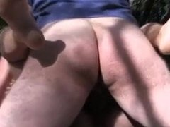cuck films his wife outside sucking and fucking stranger
