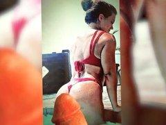 Daria's super hot ass 2 - cum tribute