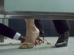 Rebecca Romijn And Rie Rasmussen Lesbo Scene In Femme Fatale