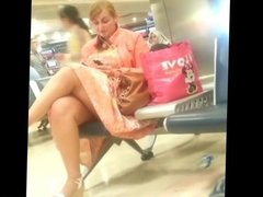 Milf at the airport
