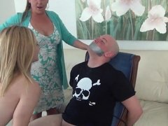 Mom lets her daughter do what ever she wants to do to her br
