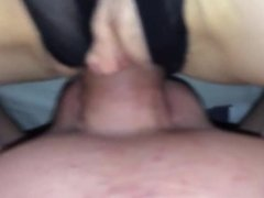 My 51 yo Mom In Sexy Panties Take Huge Creampie From My Cock