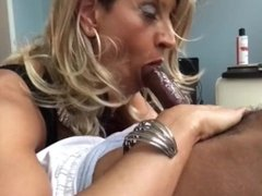Another BBC load down Glamgurlxoxo's throat