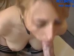 Submissive German mommy with big boobs lets me fuck her ass doggy style