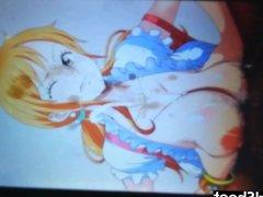 Nami (One Piece) Cum Tribute #2 (SoP) Collab. Seishi Tribute