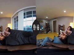 Ryder Skye Cuckholds her Husband in VR