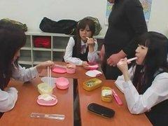 STP1 Aint They Sweet Japanese Schoolgirls Getting A Treat !