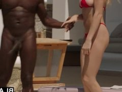 BLACKED Kendra Sunderland on vacation fucked by monster black cock