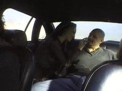 Cabby Wacks Off To Hood Rat