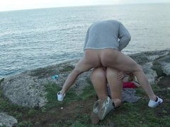 Young German Couple Fuck Public At Holiday on Mallorca
