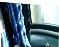 Fattie Giving Head In The Car