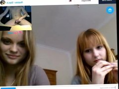 naked in front of girls on webcam