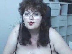 Amateur Big Boobs Mature With Glasses