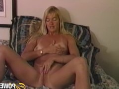 EDPOWERS - Kinky lesbian Trinity Linda impaled with strapon