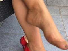 Feet in Nylon - Video 30