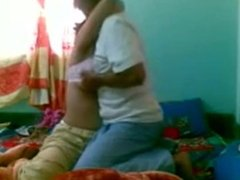 Desi Aunty fucked by her lover awesome video