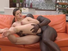Interracial sex is surely the best gift for Birthday party