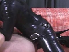 Session with Mistress strapon
