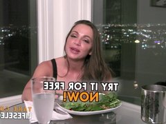 Hollywood POV sex adventure with Abigail Mac and Brett Rossi