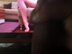 black dick and long legged hottie - Cum tribute