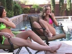 Leah Gotti and Kimmy Granger in 2 Chicks Same Time