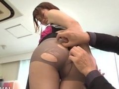 Yumi Maeda is ready to have sex at the office