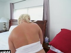Phat maid with huge tits smashed by clients huge cock