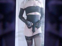 Jenna travesti mostrando sua bunda gostosa