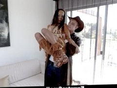 ExxxtraSmall - Tiny Teen Chased And Fucked By Cowboy
