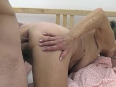 90 years old granny gets rough fucked