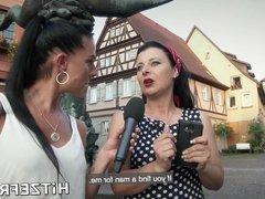 HITZEFREI German MILF finds herself a big cock