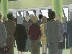 Pervs on a Train (Tsuukin Kairaku Chikan de Go) hentai #2