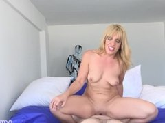 MILF Trip - Horny blonde MILF gets filled with thick dick - Part 1