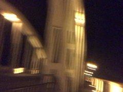 Naked on Fairfield Bridge