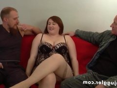 Young woman fucked in her own home