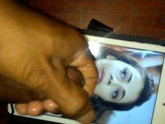 Kajal agarwal 6 th face cum shot