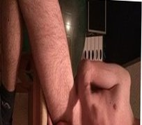 Young guy spray's cum on his hot body