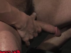 Blowjob rimming and wild anal sex with bearded homosexuals