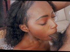 Masturbating Black Teen caught